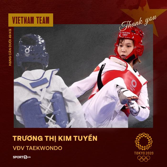 Xin cảm ơn! Những đại diện của thể thao Việt Nam tại Olympic Tokyo 2020 - Ảnh 16.