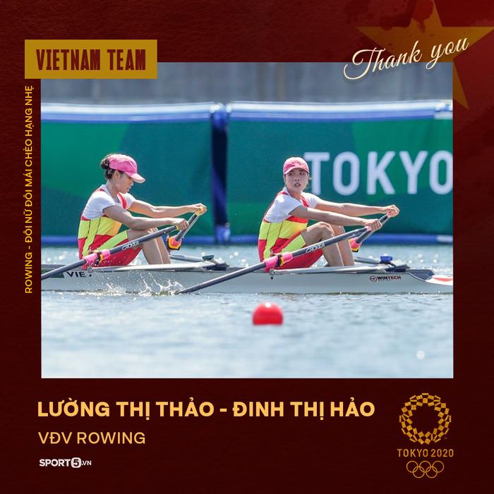 Xin cảm ơn! Những đại diện của thể thao Việt Nam tại Olympic Tokyo 2020 - Ảnh 17.