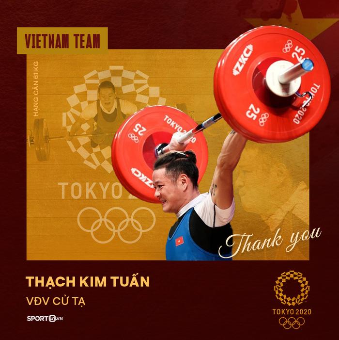 Xin cảm ơn! Những đại diện của thể thao Việt Nam tại Olympic Tokyo 2020 - Ảnh 4.