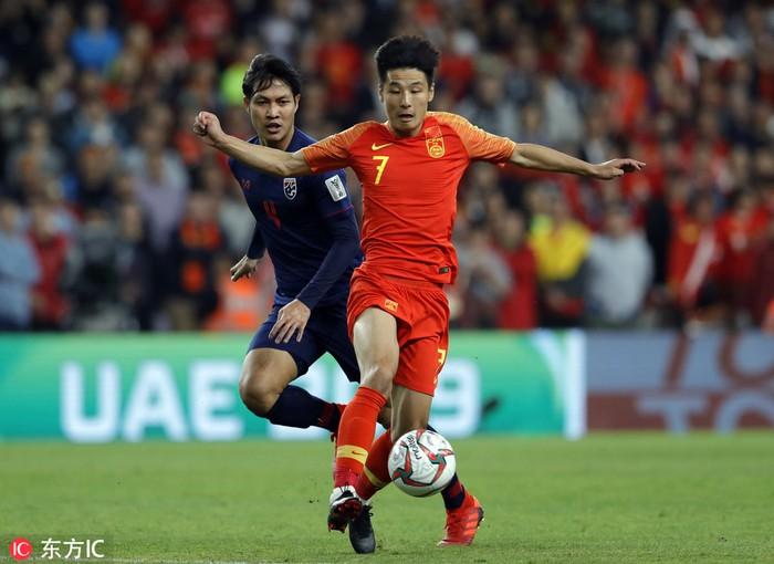 Tuyển Trung Quốc mất tiền đạo nguy hiểm nhất trước trận gặp tuyển Việt Nam Wu Lei Sport5