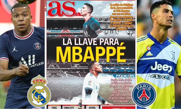 Chuyển nhượng 24/8: Ronaldo là tác nhân chính giúp Real sở hữu Mbappe? - Ảnh 3.