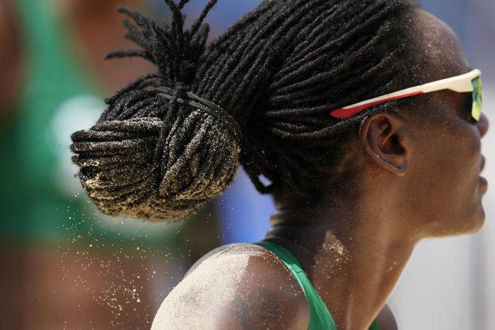Ảnh Olympic Tokyo 2020: Những kiểu tóc độc đáo và kỳ công thu hút ánh nhìn - Ảnh 13.
