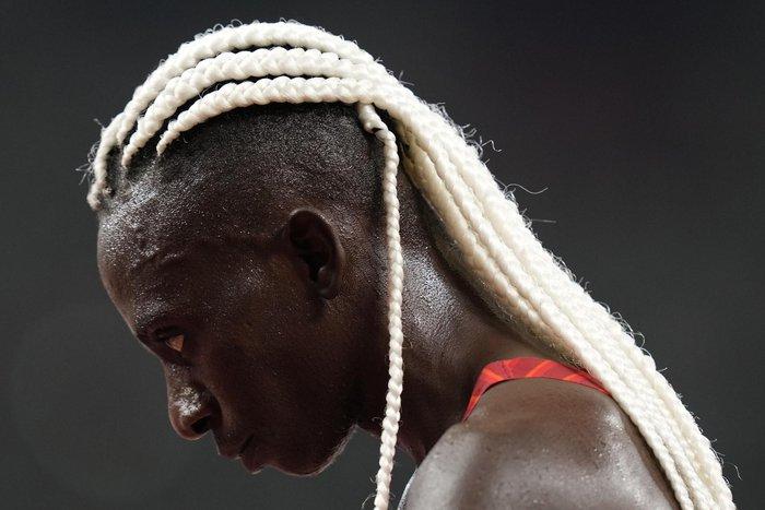 Ảnh Olympic Tokyo 2020: Những kiểu tóc độc đáo và kỳ công thu hút ánh nhìn - Ảnh 4.