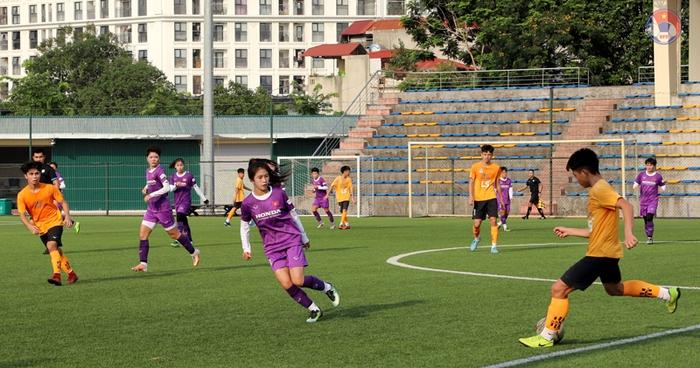 """Không có trận đấu giao hữu quốc tế, đội tuyển nữ tăng cường thi đấu với """"quân xanh"""" tại Việt Nam - Ảnh 2."""