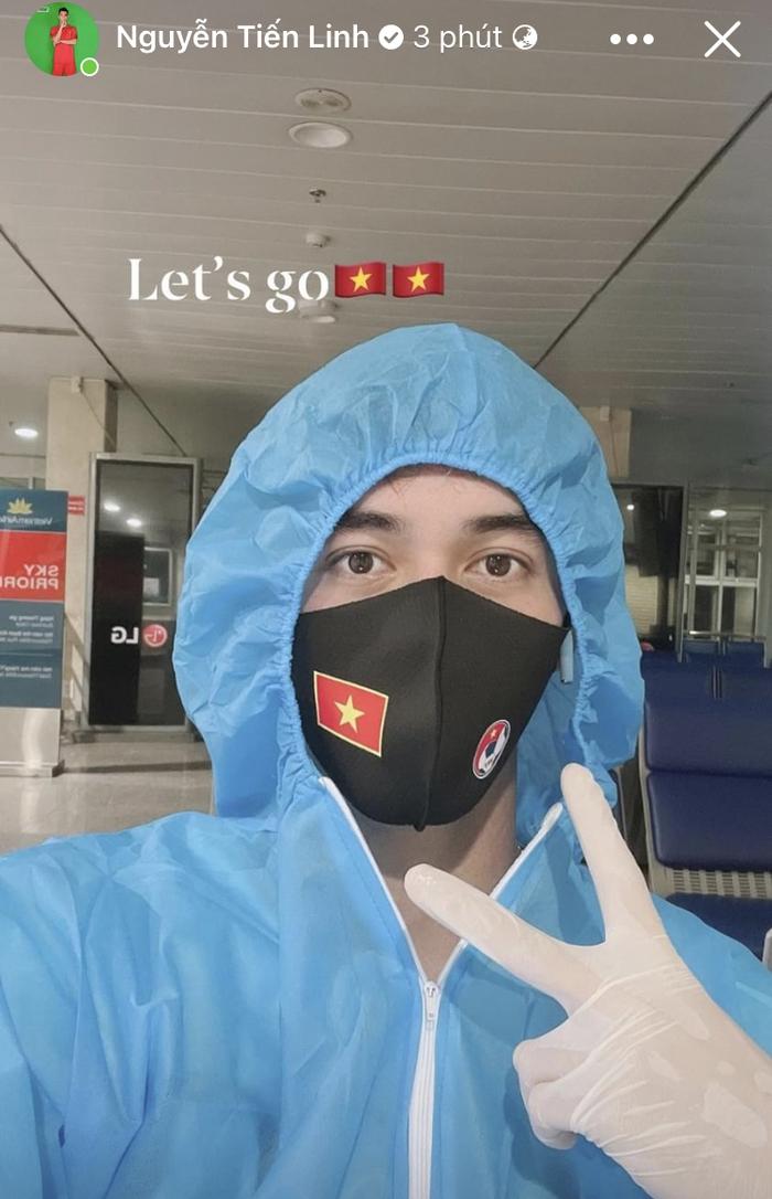 """Tân binh tuyển Việt Nam vui mừng vì được ở cùng phòng với """"Idol"""", Tiến Linh sẵn sàng hội quân ở Hà Nội - Ảnh 3."""