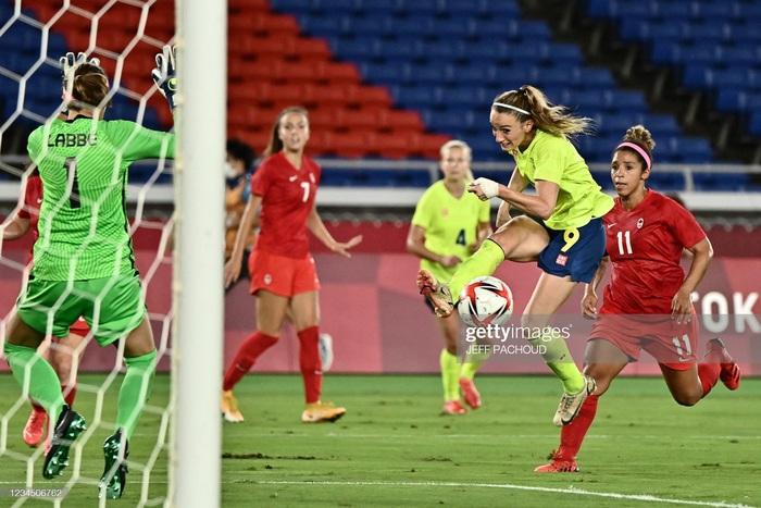 Đá hỏng liên tiếp 3 quả luân lưu, Canada vẫn vô địch bóng đá nữ Olympic 2020 - Ảnh 9.