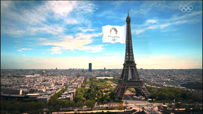 Ảnh: Pháp đón đăng cai Olympic 2024 hoành tráng trước Tháp Eiffel - Ảnh 3.