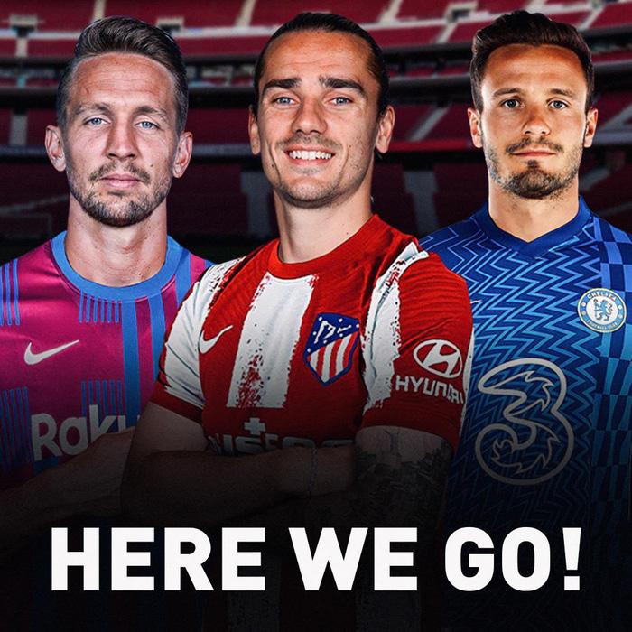 Ngày cuối chuyển nhượng hè 2021: Sốc! Griezmann chia  tay Barca ngay trước