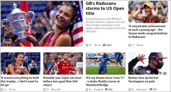 Chiếm spotlight của Ronaldo, nữ tay vợt tuổi teen Raducanu khiến fan và truyền thông Anh phát cuồng khi vô địch US Open - Ảnh 5.