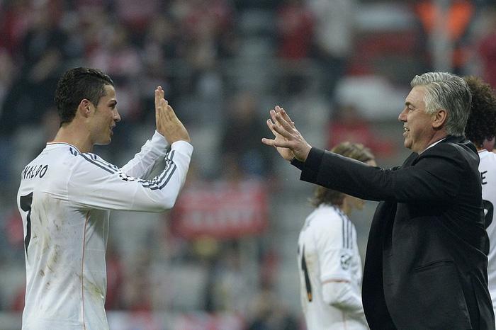 Carlo Ancelotti thu được quả ngọt nhờ biết cách quản lý Ronaldo
