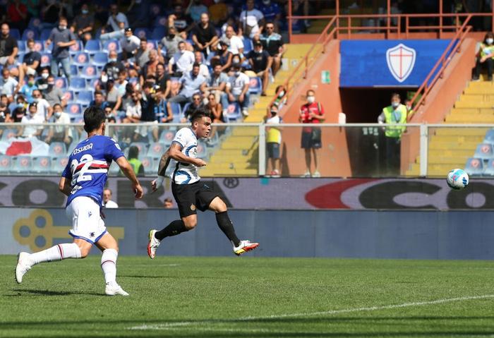 Công làm thủ phá, Inter Milan bất lực để Sampdoria cầm chân với tỷ số 2-2 sau 90 phút - Ảnh 5.