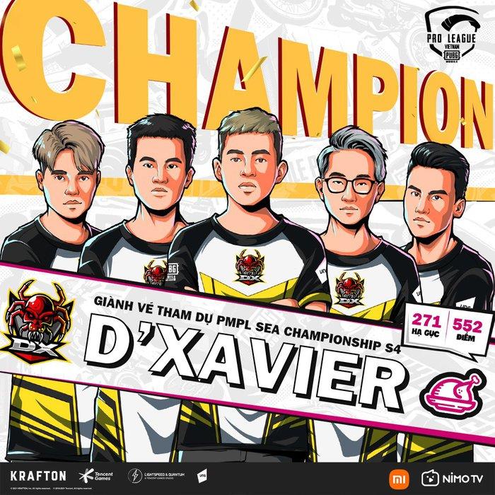 D'Xavier trở thành đại diện Việt Nam đầu tiên dự giải PUBG Mobile SEA - Ảnh 3.