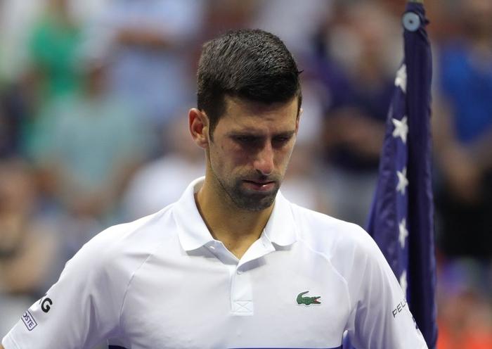 Sốc! Djokovic thua trắng 3 set ở chung kết US Open, bỏ lỡ thời cơ vàng vượt Federer và Nadal - Ảnh 12.