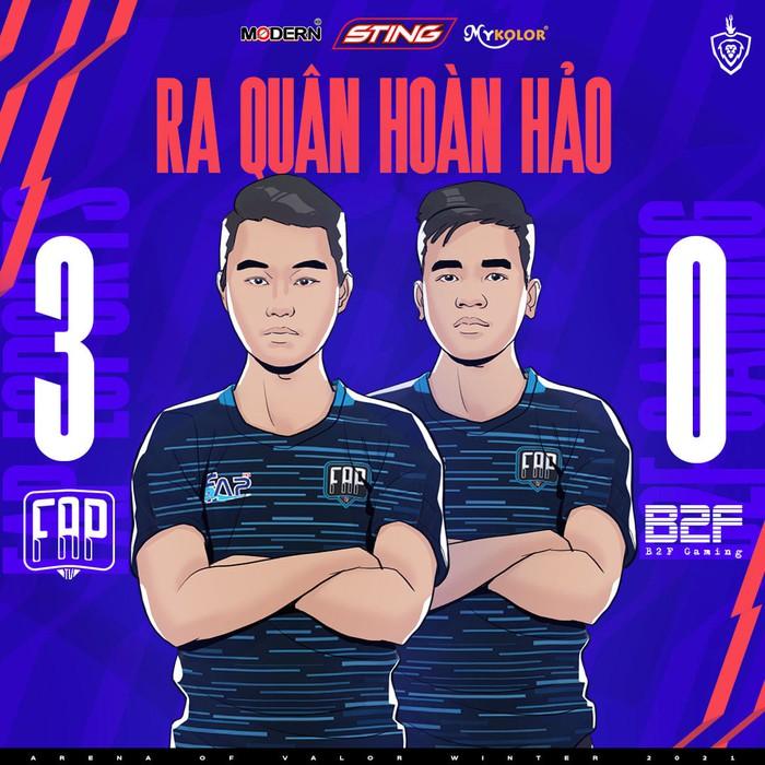 Đội hình xuất sắc nhất tuần 1 ĐTDV mùa Đông 2021: FAP Esports áp đảo  - Ảnh 4.