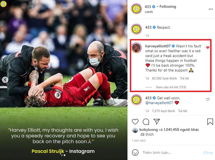 Sao trẻ Liverpool tiếc vì cầu thủ khiến mình chấn thương nặng kháng cáo bất thành - Ảnh 2.