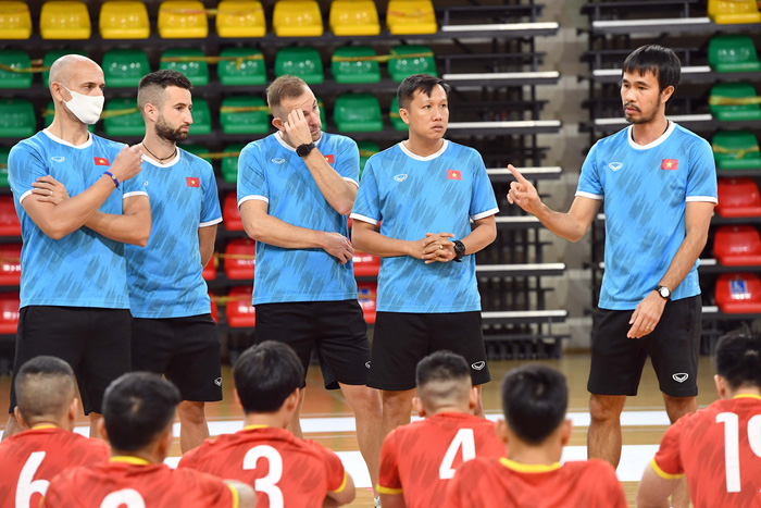 Đội tuyển futsal Việt Nam quyết giành 3 điểm trước Panama - Ảnh 1.