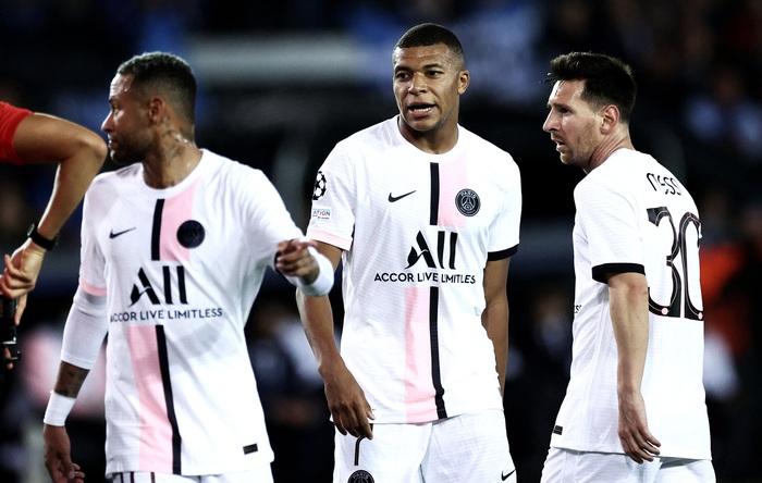 Tam tấu Messi-Neymar-Mbappe bất lực nhìn PSG mất điểm - Ảnh 2.