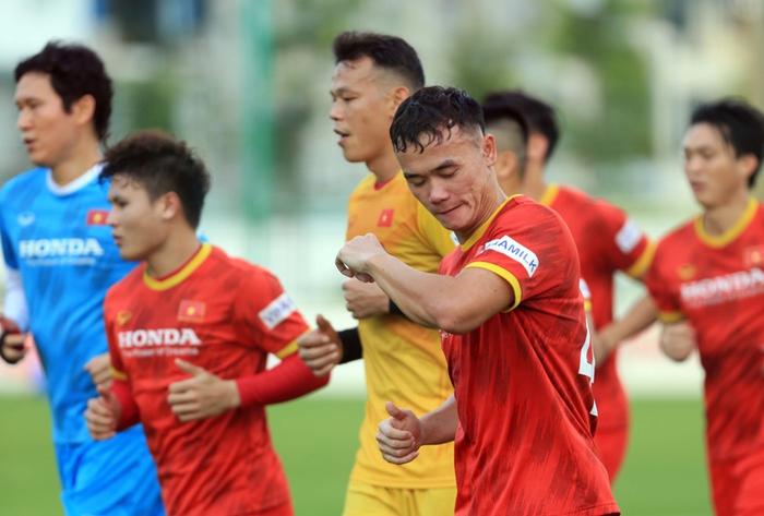 Công Phượng cực vui trong buổi tập đầu tiên cùng tuyển Việt Nam ở vòng loại 3 World Cup 2022 - Ảnh 2.