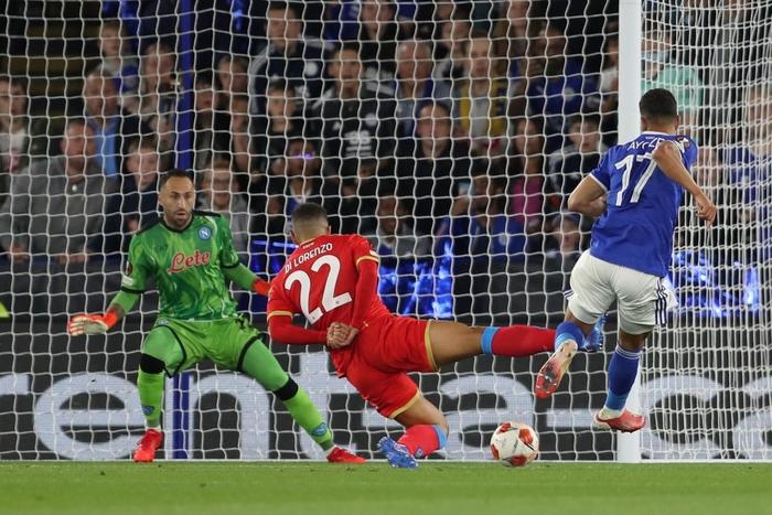 Thi đấu thiếu tập trung, Leicester City nhọc nhằn để Napoli cầm hòa với tỷ số 2-2 - Ảnh 2.