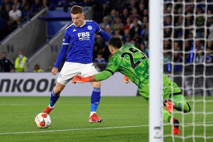 Thi đấu thiếu tập trung, Leicester City nhọc nhằn để Napoli cầm hòa với tỷ số 2-2 - Ảnh 1.
