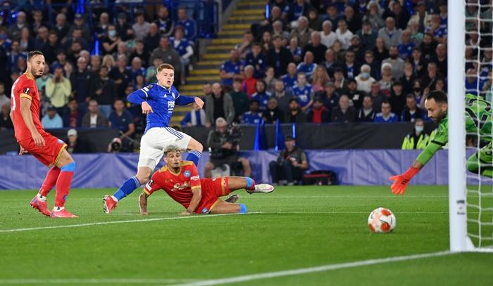 Thi đấu thiếu tập trung, Leicester City nhọc nhằn để Napoli cầm hòa với tỷ số 2-2 - Ảnh 6.