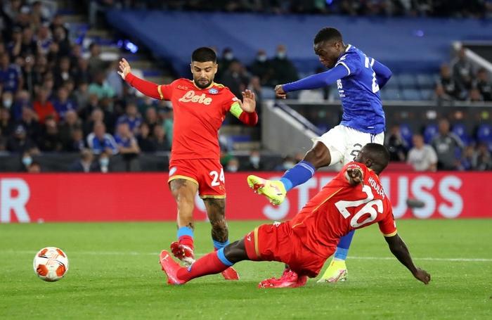 Thi đấu thiếu tập trung, Leicester City nhọc nhằn để Napoli cầm hòa với tỷ số 2-2 - Ảnh 5.