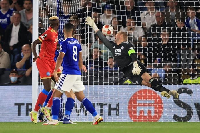 Thi đấu thiếu tập trung, Leicester City nhọc nhằn để Napoli cầm hòa với tỷ số 2-2 - Ảnh 8.