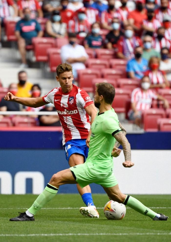 Joao Felix nhận thẻ đỏ, Atletico bị đối thủ dưới cơ cầm hòa ngay trên sân nhà - Ảnh 1.