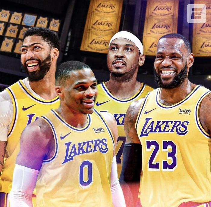 """Dwight Howard khẳng định chẳng có """"cái tôi"""" nào tồn tại ở Los Angeles Lakers - Ảnh 3."""