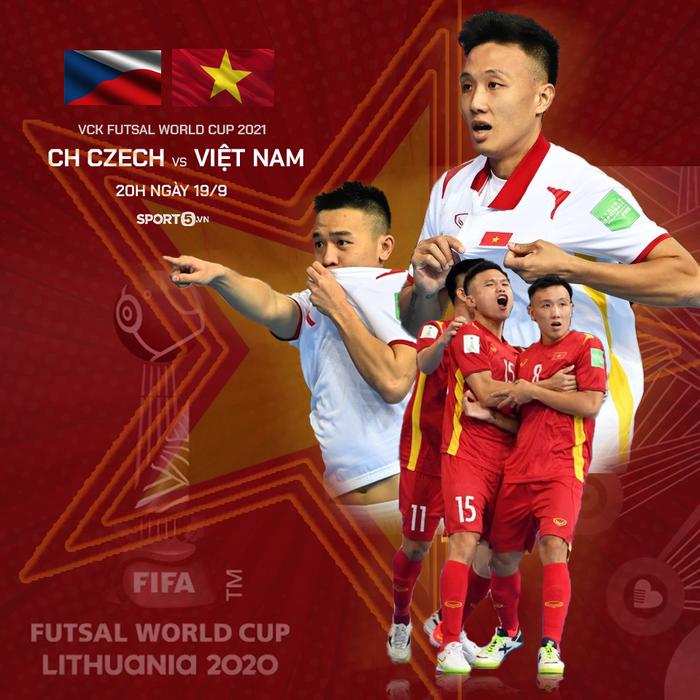 Trực tiếp Việt Nam vs CH Czech, VCK futsal World Cup 2021: Trận chiến quyết định  - Ảnh 2.
