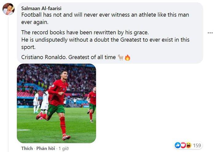 Dân mạng nổ tưng bừng trong ngày Ronaldo lập siêu kỷ lục bóng đá thế giới - Ảnh 6.