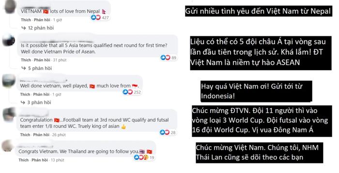 Fan Việt Nam và Thái Lan cùng ăn mừng khi 2 đội tuyển lọt vào vòng 16 đội Futsal World Cup 2021 - Ảnh 2.