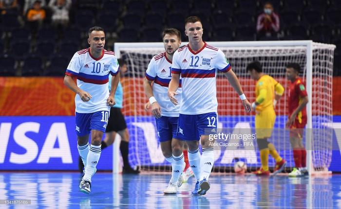 Kết quả Nga 3-2 Việt Nam, VCK futsal World Cup 2022: Chiến đấu kiên cường - Ảnh 14.