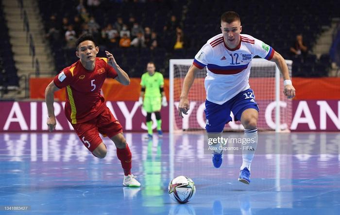 Kết quả Nga 3-2 Việt Nam, VCK futsal World Cup 2022: Chiến đấu kiên cường - Ảnh 6.