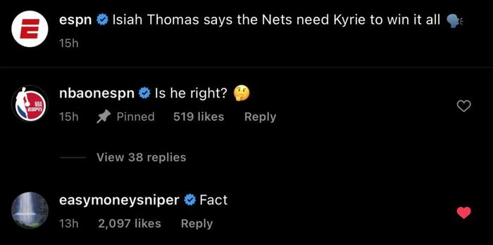 Kevin Durant thêm một lần khẳng định tầm quan trọng của Kyrie Irving đối với Brooklyn Nets - Ảnh 3.