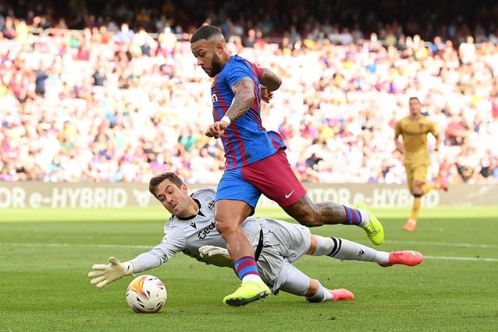 Truyền nhân của Messi trở lại và ghi bàn, Barcelona thắng tưng bừng sau chuỗi ngày u ám - Ảnh 5.