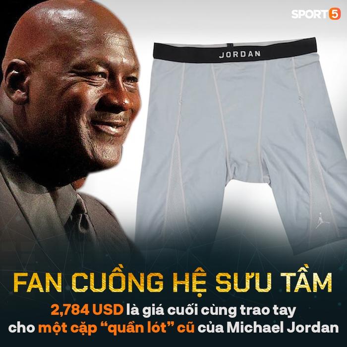 """Bán đấu giá """"quần lót cũ"""" của Michael Jordan, bạn thân một thời thu về món lời không tưởng - Ảnh 1."""
