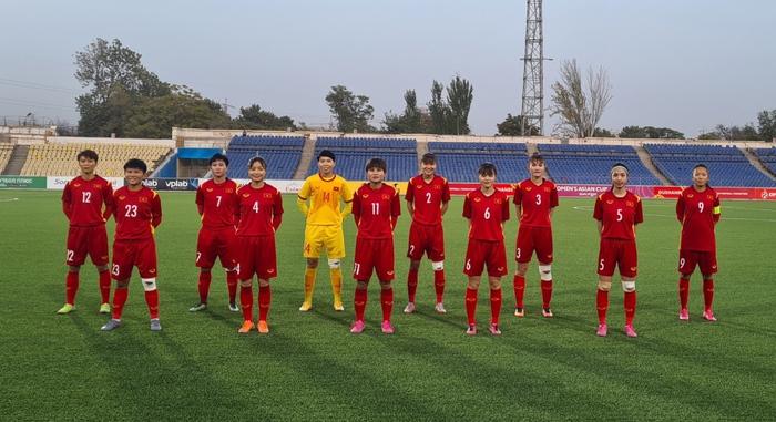 Giành chiến thắng 7-0, tuyển nữ Việt Nam chính thức vào VCK Asian Cup 2022 - Ảnh 1.