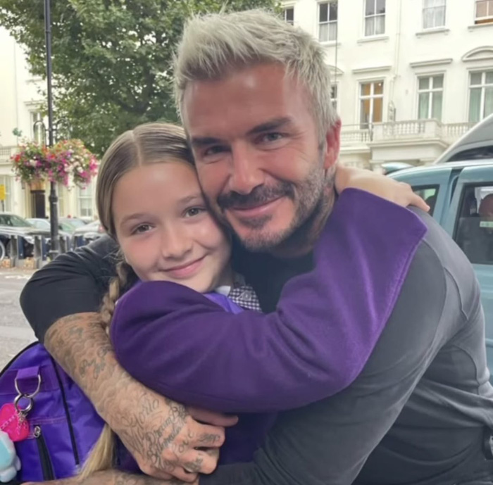 Lạnh lùng như David Beckham cũng có ngày phải tan chảy khi xa con gái, Victoria nhân cơ hội có màn cà khịa cực mạnh - Ảnh 3.