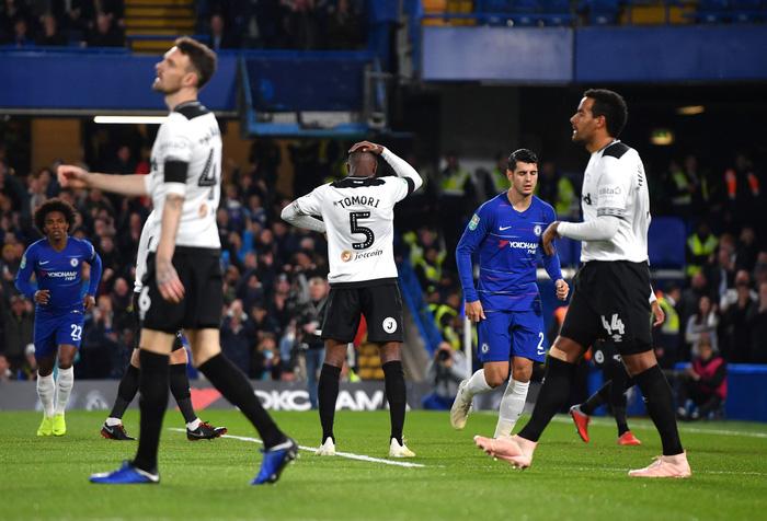 Bị học trò bóp tới 2 lần, Lampard chấp nhận thua sát nút Chelsea - Ảnh 3.