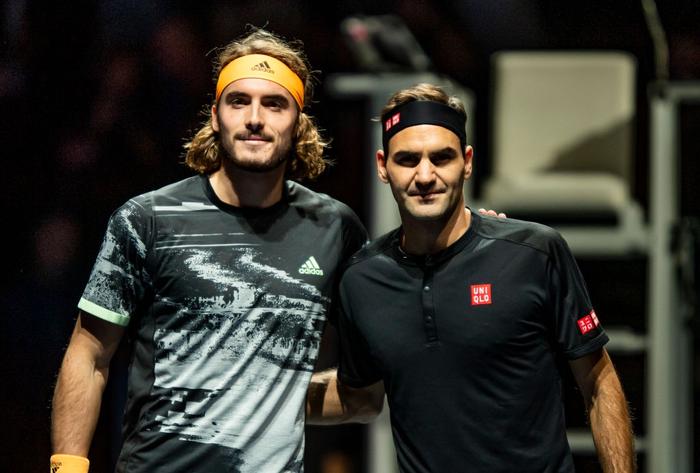"""Federer thua """"không thể bào chữa"""" trước hot boy Tsitsipas ở bán kết ATP Finals nhưng vẫn mát lòng mát dạ bởi phát biểu này của đàn em - Ảnh 3."""