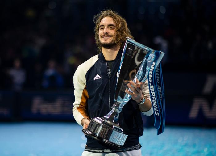 Ngược dòng thắng kịch tính, hot boy quần vợt đăng quang ATP Finals 2019 - Ảnh 6.