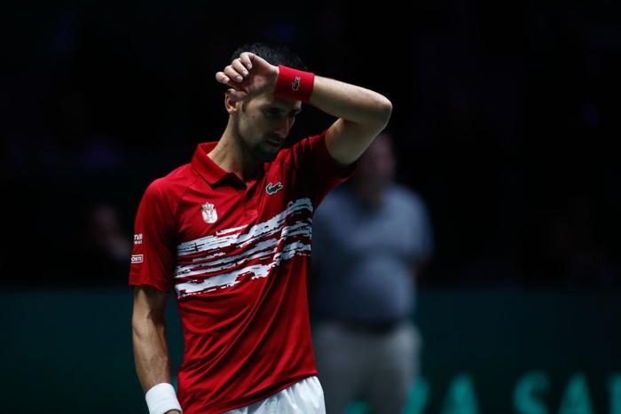 Tứ kết cúp đồng đội danh giá nhất thế giới: Nadal phấn khích ôm chầm bạn đánh cặp, Djokovic đau đớn dừng bước - Ảnh 8.