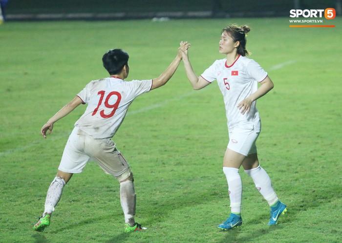 Thắng đậm Lebanon, U19 nữ Việt Nam vẫn thấp thỏm chờ đối đầu với Hàn Quốc - Ảnh 3.