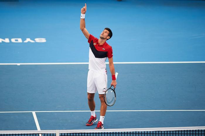 Đáp lời hoa khôi banh nỉ, Djokovic nhận sự cổ vũ cuồng nhiệt để ngược dòng kịch tính giúp Serbia vào bán kết ATP Cup - Ảnh 8.