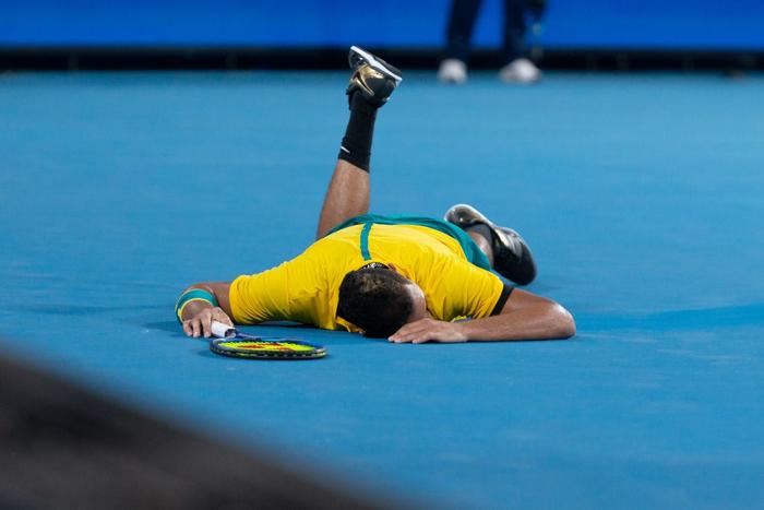 Nadal, Djokovic tỏa sáng để tạo nên trận chung kết trong mơ tại ATP Cup - Ảnh 6.