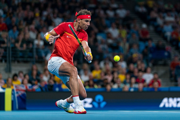 Nadal, Djokovic tỏa sáng để tạo nên trận chung kết trong mơ tại ATP Cup - Ảnh 3.