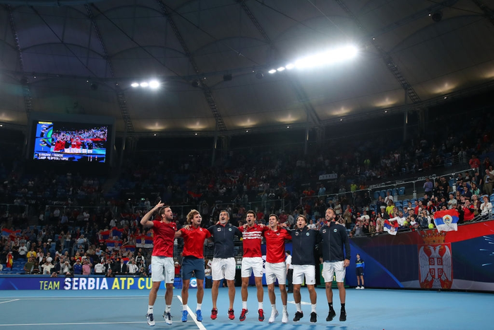 """Hạ đẹp Nadal, Djokovic giúp tuyển Serbia vô địch """"World Cup quần vợt"""" - Ảnh 8."""