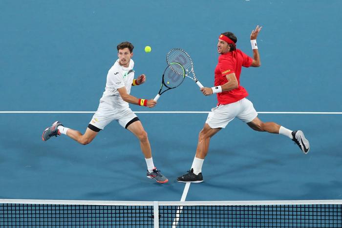 """Hạ đẹp Nadal, Djokovic giúp tuyển Serbia vô địch """"World Cup quần vợt"""" - Ảnh 6."""