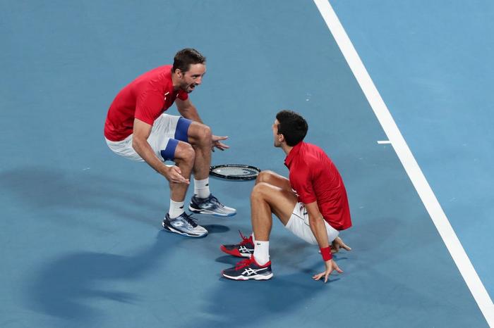 """Hạ đẹp Nadal, Djokovic giúp tuyển Serbia vô địch """"World Cup quần vợt"""" - Ảnh 7."""